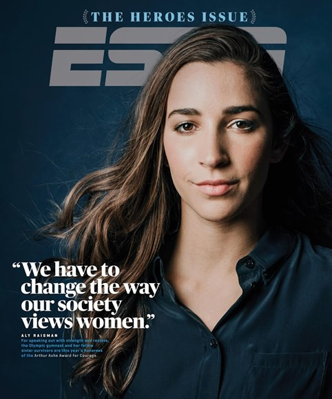 ESPN The Magazine Cover - 7/30/2018