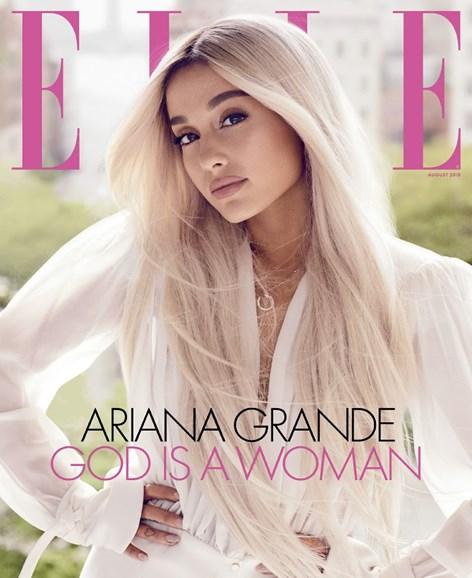 ELLE Cover - 8/1/2018