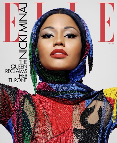 ELLE Cover - 7/1/2018