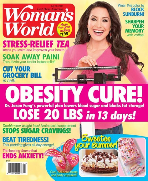 Woman's World Cover - 7/30/2018