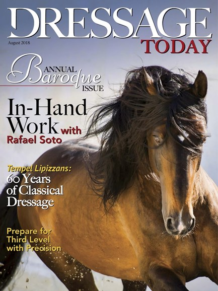 Dressage Today Cover - 8/1/2018