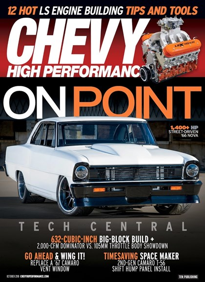 Chevy High Performance Cover - 10/1/2018