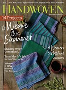 Handwoven Magazine 9/1/2018