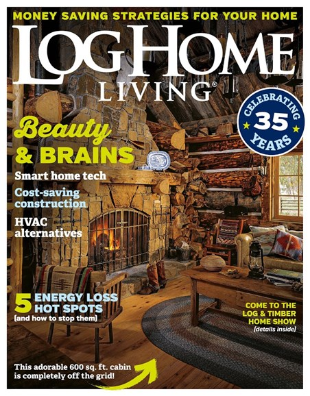 Log Home Living Cover - 8/1/2018