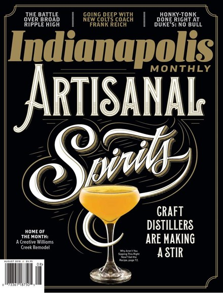 Indianapolis Monthly Cover - 8/1/2018