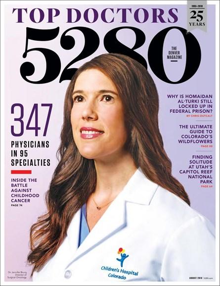 5280 Magazine Cover - 8/1/2018