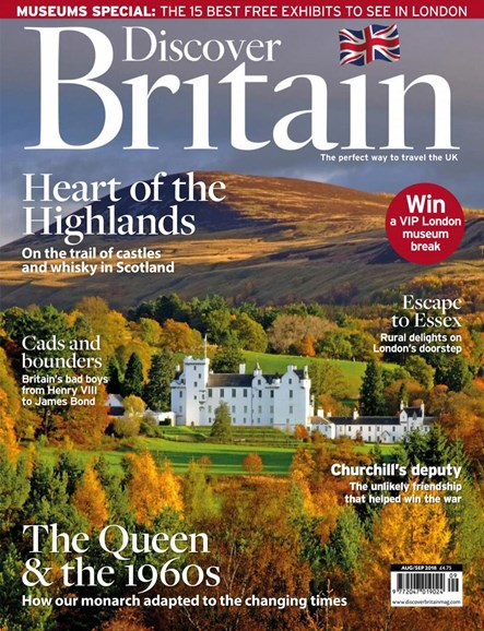 Discover Britain Cover - 8/1/2018