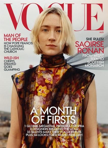 Vogue Cover - 8/1/2018