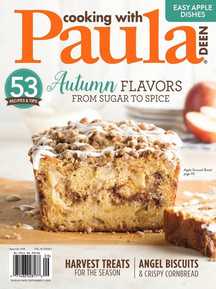 Cooking With Paula Deen Cover - 9/1/2018