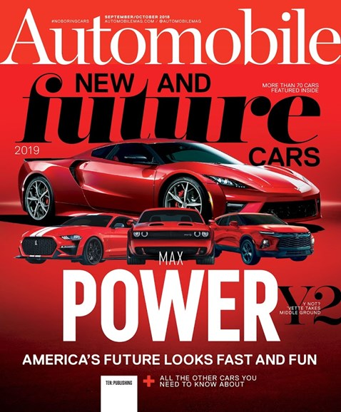 Automobile Cover - 9/1/2018
