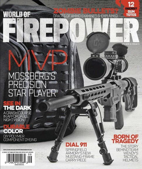 World of Firepower Cover - 9/1/2018