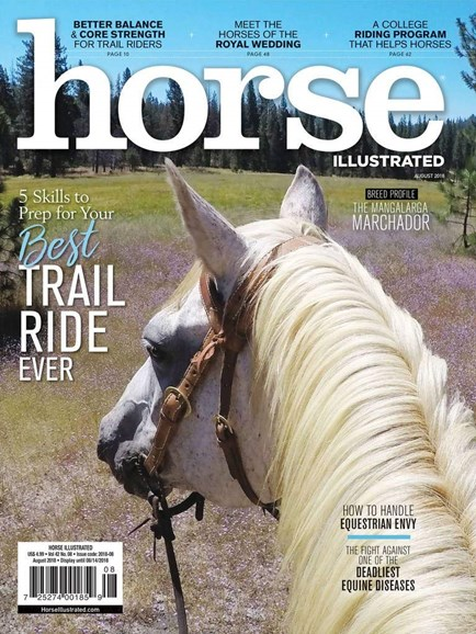 Horse Illustrated Cover - 8/1/2018