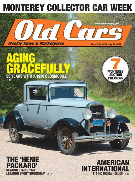 Old Cars Cover - 7/26/2018