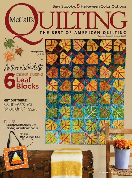 McCall's Quilting Cover - 9/1/2018