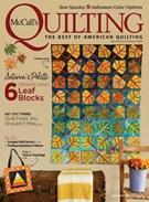 Mccall's Quilting Magazine 9/1/2018