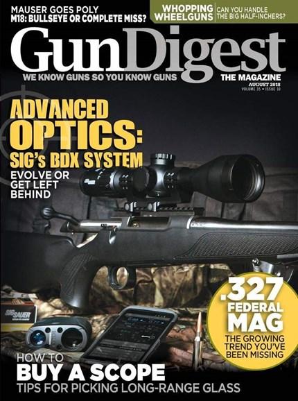 Gun Digest Cover - 8/1/2018