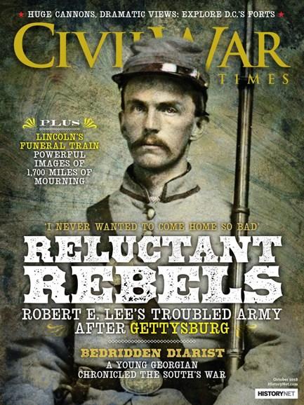 Civil War Times Cover - 10/1/2018