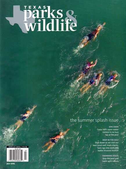 Texas Parks & Wildlife Cover - 7/1/2018