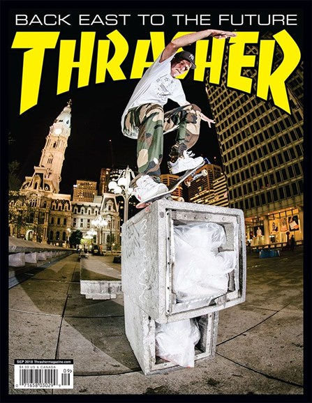 Thrasher Cover - 9/1/2018