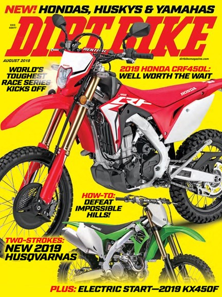 Dirt Bike Cover - 8/1/2018