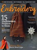 Creative Machine Embroidery   9/2018 Cover