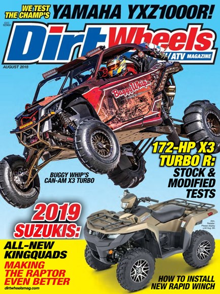 Dirt Wheels Cover - 8/1/2018
