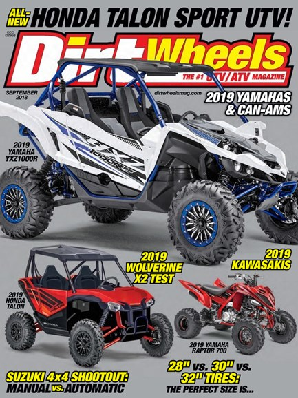 Dirt Wheels Cover - 9/1/2018