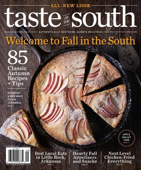 Taste of the South Cover - 9/1/2018