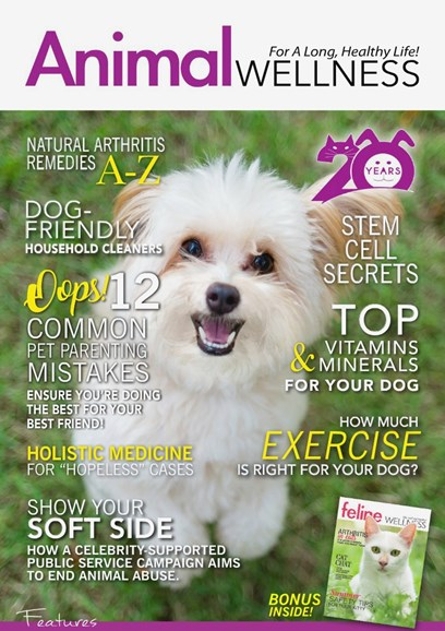 Animal Wellness Cover - 8/1/2018