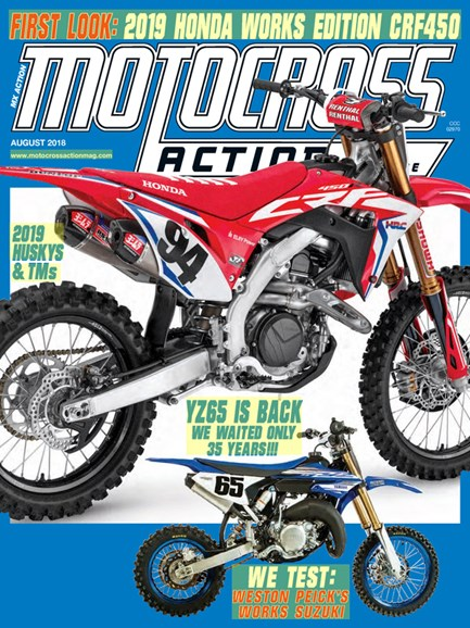 Motocross Action Cover - 8/1/2018