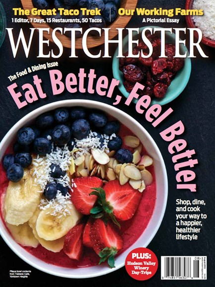 Westchester Magazine Cover - 8/1/2018