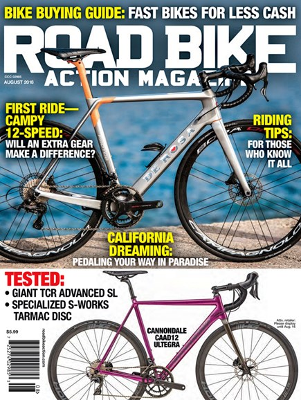 Road Bike Action Cover - 8/1/2018