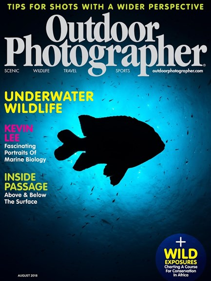 Outdoor Photographer Cover - 8/1/2018