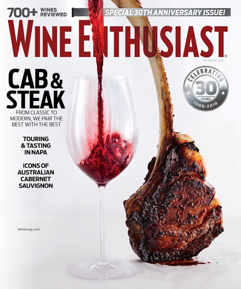 Wine Enthusiast Cover - 9/1/2018