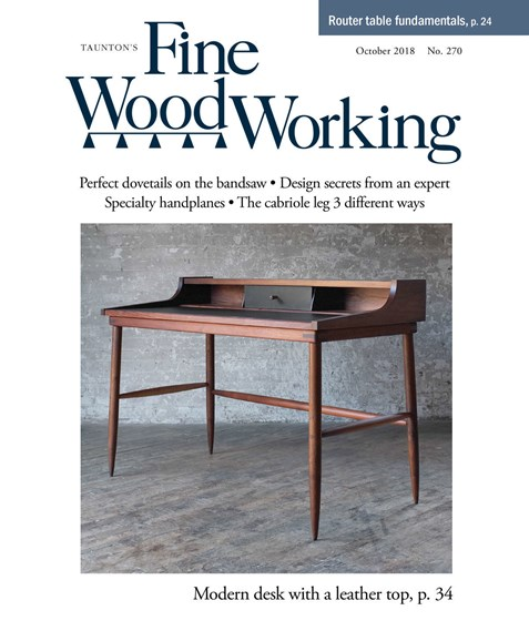 Fine Woodworking Cover - 10/1/2018