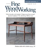 Fine Woodworking Magazine 10/1/2018