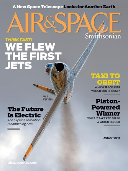 Air & Space Cover - 8/1/2018