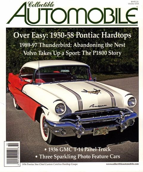 Collectible Automobile Cover - 10/1/2018
