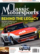Classic Motorsports Magazine 9/1/2018
