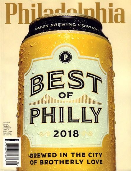 Philadelphia Magazine Cover - 8/1/2018