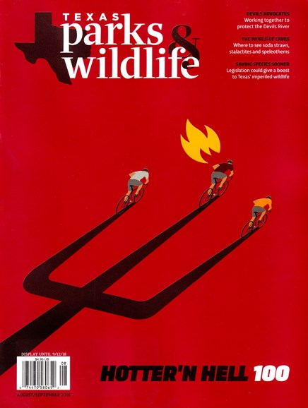 Texas Parks & Wildlife Cover - 8/1/2018