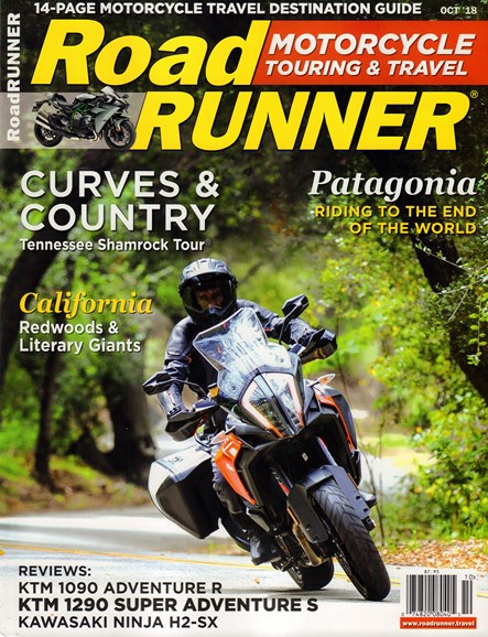 Road RUNNER Motorcycle & Touring Cover - 10/1/2018