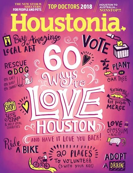 Houstonia Cover - 8/1/2018