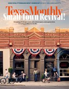Texas Monthly Magazine 8/1/2018