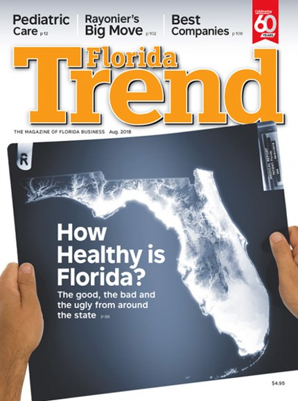 Florida Trend Cover - 8/1/2018