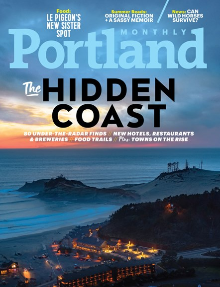Portland Monthly Cover - 8/1/2018
