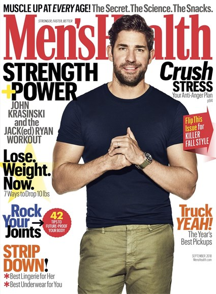 Men's Health Cover - 9/1/2018
