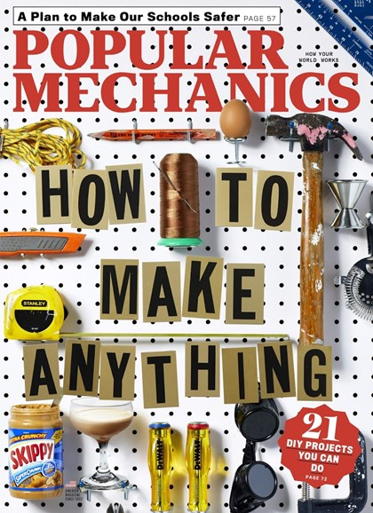 Popular Mechanics Cover - 9/1/2018