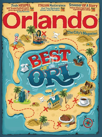 Orlando Magazine Cover - 8/1/2018