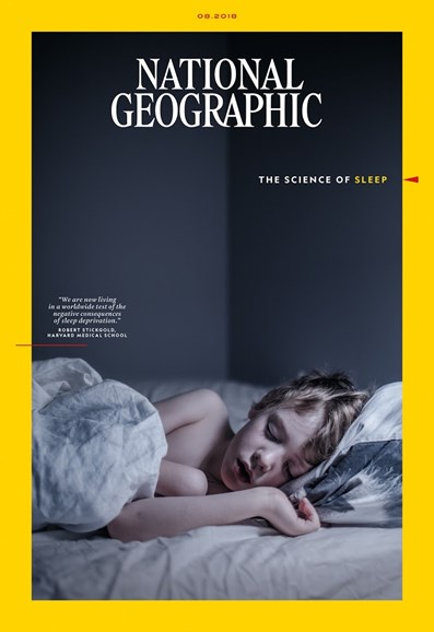 National Geographic Cover - 8/1/2018